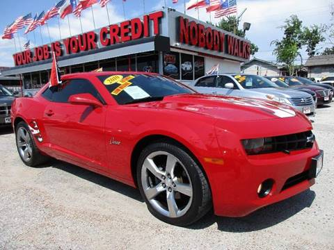 2010 Chevrolet Camaro for sale at Giant Auto Mart 2 in Houston TX