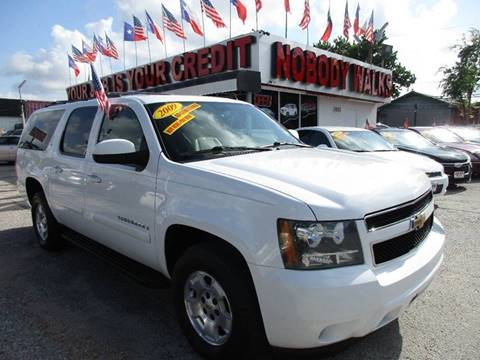 2009 Chevrolet Suburban for sale at Giant Auto Mart 2 in Houston TX