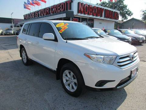 2012 Toyota Highlander for sale at Giant Auto Mart 2 in Houston TX