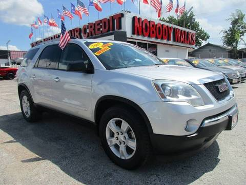 2010 GMC Acadia for sale at Giant Auto Mart 2 in Houston TX