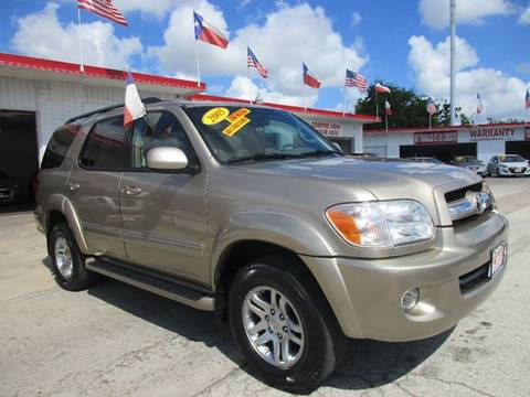 2005 Toyota Sequoia for sale at Giant Auto Mart 2 in Houston TX