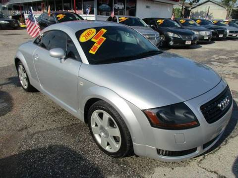 2002 Audi TT for sale at Giant Auto Mart 2 in Houston TX