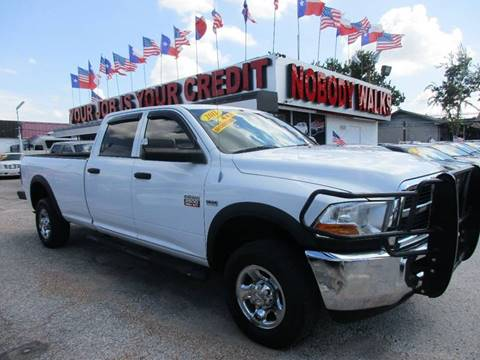 2011 RAM Ram Pickup 2500 for sale at Giant Auto Mart 2 in Houston TX