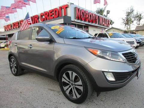 2011 Kia Sportage for sale at Giant Auto Mart 2 in Houston TX