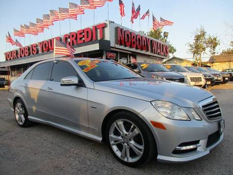 2012 Mercedes-Benz E-Class for sale at Giant Auto Mart 2 in Houston TX