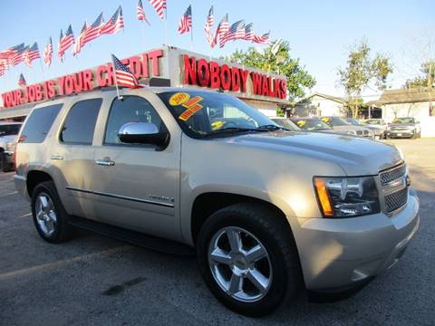 2009 Chevrolet Tahoe for sale at Giant Auto Mart 2 in Houston TX