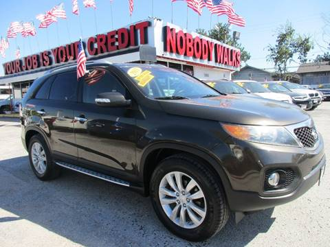 2011 Kia Sorento for sale at Giant Auto Mart 2 in Houston TX