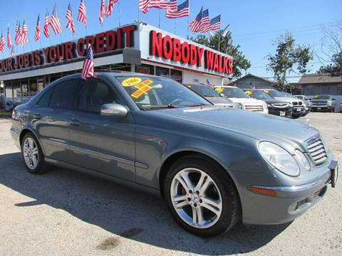 2006 Mercedes-Benz E-Class for sale at Giant Auto Mart 2 in Houston TX
