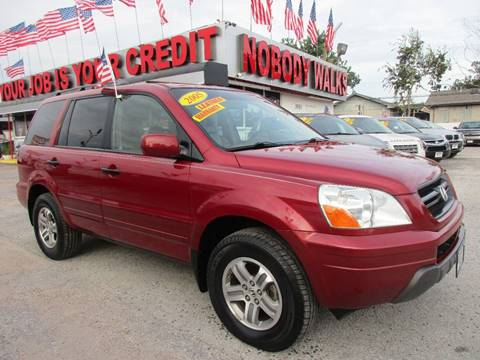 2005 Honda Pilot for sale at Giant Auto Mart 2 in Houston TX