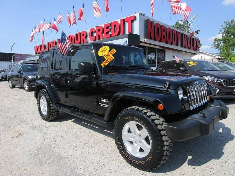 2007 Jeep Wrangler Unlimited For Sale At Giant Auto Mart 2 In Houston TX