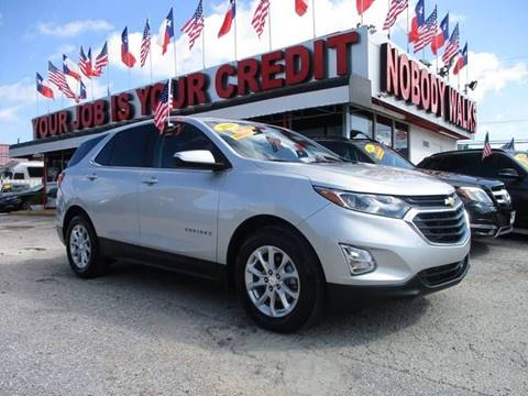 2018 Chevrolet Equinox for sale at Giant Auto Mart 2 in Houston TX