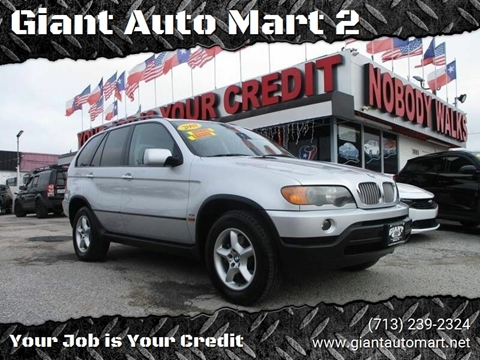 2003 BMW X5 for sale at Giant Auto Mart 2 in Houston TX