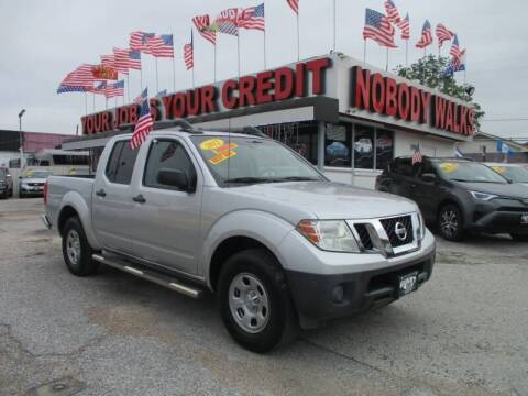 2012 Nissan Frontier for sale at Giant Auto Mart 2 in Houston TX