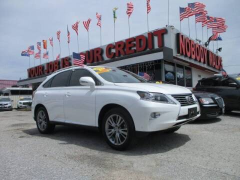 2013 Lexus RX 350 for sale at Giant Auto Mart 2 in Houston TX