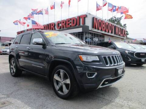 2015 Jeep Grand Cherokee for sale at Giant Auto Mart 2 in Houston TX