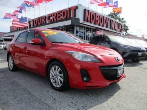 2013 Mazda MAZDA3 for sale at Giant Auto Mart 2 in Houston TX