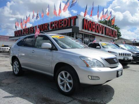 2009 Lexus RX 350 for sale at Giant Auto Mart 2 in Houston TX
