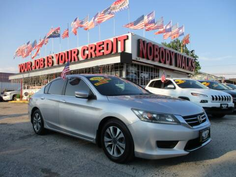 2014 Honda Accord for sale at Giant Auto Mart 2 in Houston TX