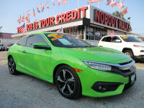 2016 Honda Civic for sale at Giant Auto Mart 2 in Houston TX