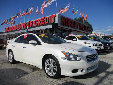 2012 Nissan Maxima for sale at Giant Auto Mart 2 in Houston TX