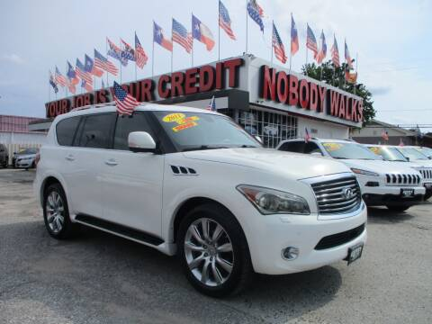 2011 Infiniti QX56 for sale at Giant Auto Mart 2 in Houston TX