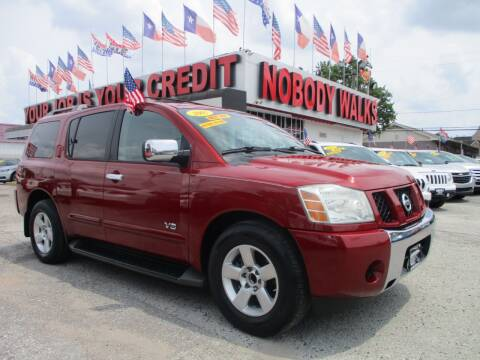 2007 Nissan Armada for sale at Giant Auto Mart 2 in Houston TX