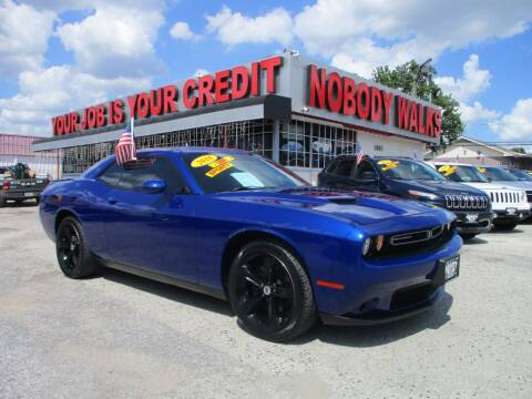 2018 Dodge Challenger for sale at Giant Auto Mart 2 in Houston TX