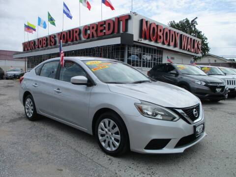 2017 Nissan Sentra for sale at Giant Auto Mart 2 in Houston TX