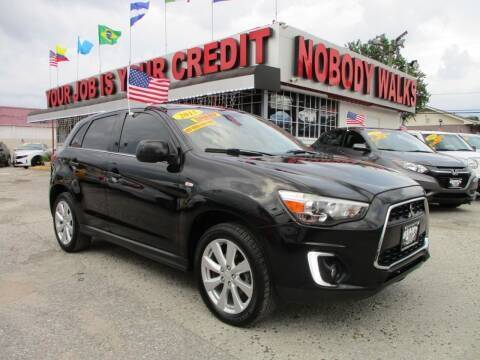 2015 Mitsubishi Outlander Sport for sale at Giant Auto Mart 2 in Houston TX