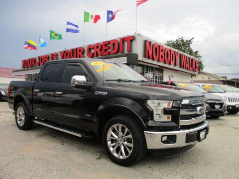 2016 Ford F-150 for sale at Giant Auto Mart 2 in Houston TX