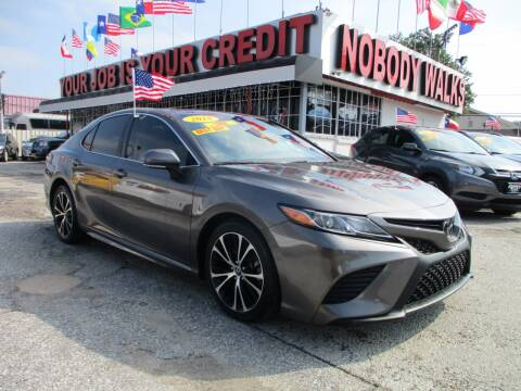 2018 Toyota Camry for sale at Giant Auto Mart 2 in Houston TX