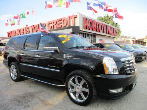 2013 Cadillac Escalade ESV for sale at Giant Auto Mart 2 in Houston TX