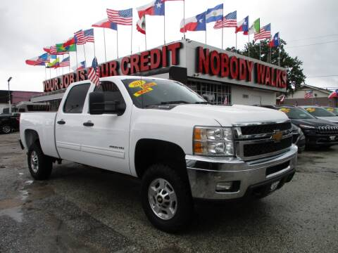 2013 Chevrolet Silverado 2500HD for sale at Giant Auto Mart 2 in Houston TX