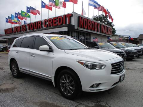 2013 Infiniti JX35 for sale at Giant Auto Mart 2 in Houston TX