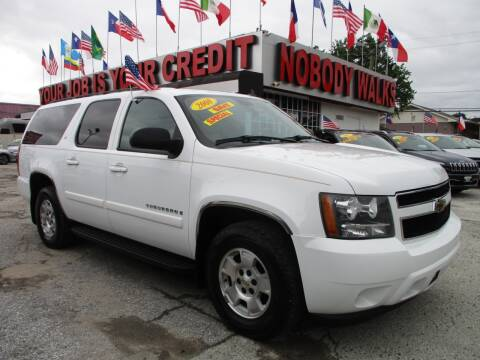 2008 Chevrolet Suburban for sale at Giant Auto Mart 2 in Houston TX