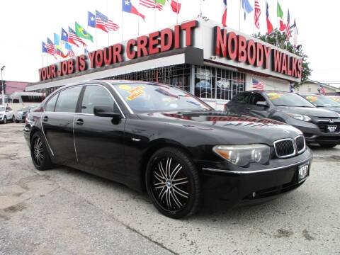 2004 BMW 7 Series for sale at Giant Auto Mart 2 in Houston TX