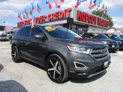 2016 Ford Edge for sale at Giant Auto Mart 2 in Houston TX