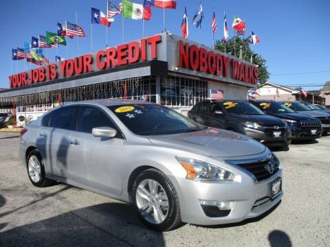 2013 Nissan Altima for sale at Giant Auto Mart 2 in Houston TX