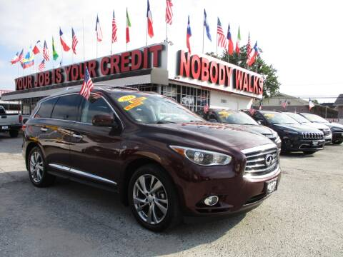 2014 Infiniti QX60 for sale at Giant Auto Mart 2 in Houston TX