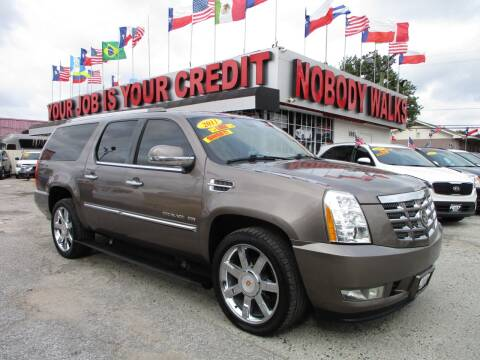 2011 Cadillac Escalade ESV for sale at Giant Auto Mart 2 in Houston TX