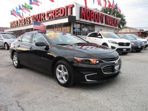 2018 Chevrolet Malibu for sale at Giant Auto Mart 2 in Houston TX