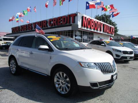 2015 Lincoln MKX for sale at Giant Auto Mart 2 in Houston TX