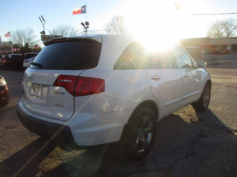 2008 Acura MDX for sale at Giant Auto Mart 2 in Houston TX