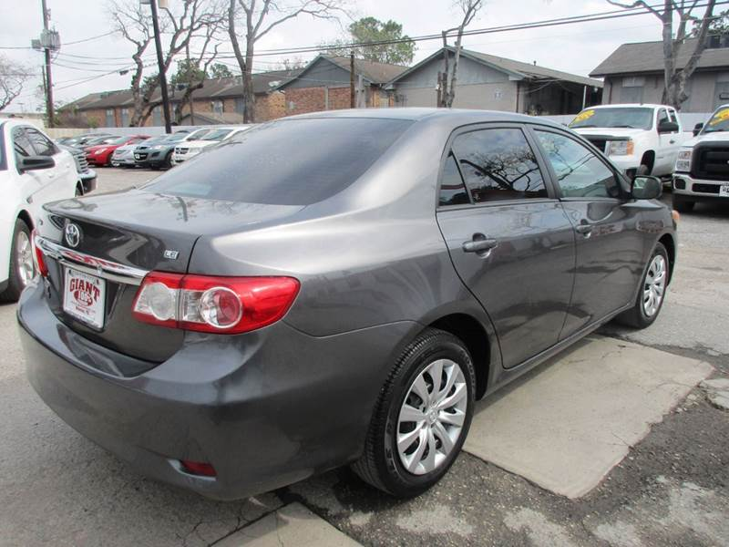 2012 Toyota Corolla for sale at Giant Auto Mart 2 in Houston TX