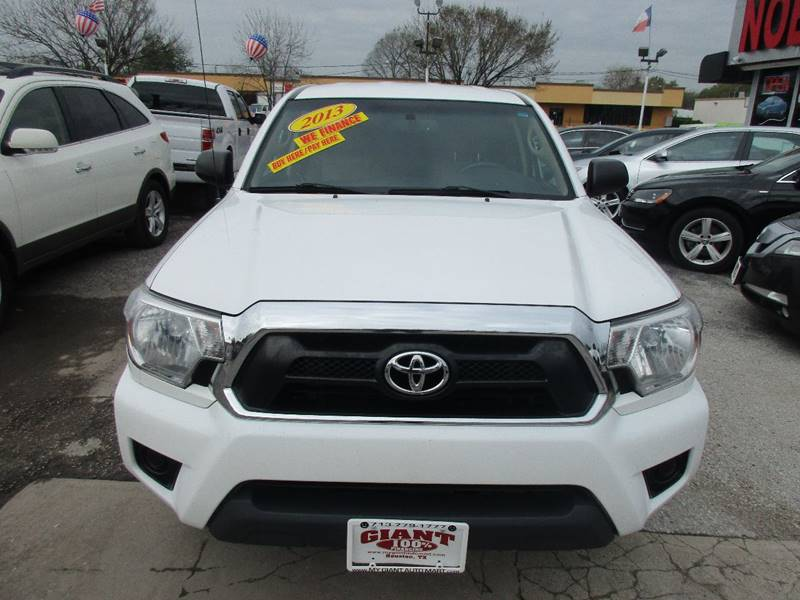 2013 Toyota Tacoma for sale at Giant Auto Mart 2 in Houston TX