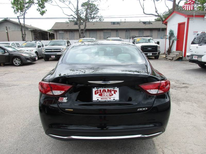 2016 Chrysler 200 for sale at Giant Auto Mart 2 in Houston TX