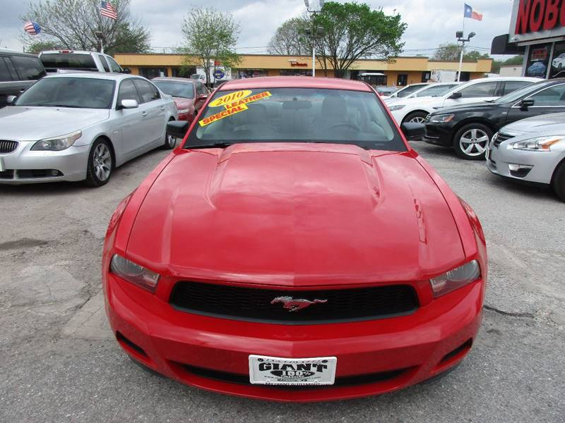 2010 Ford Mustang for sale at Giant Auto Mart 2 in Houston TX