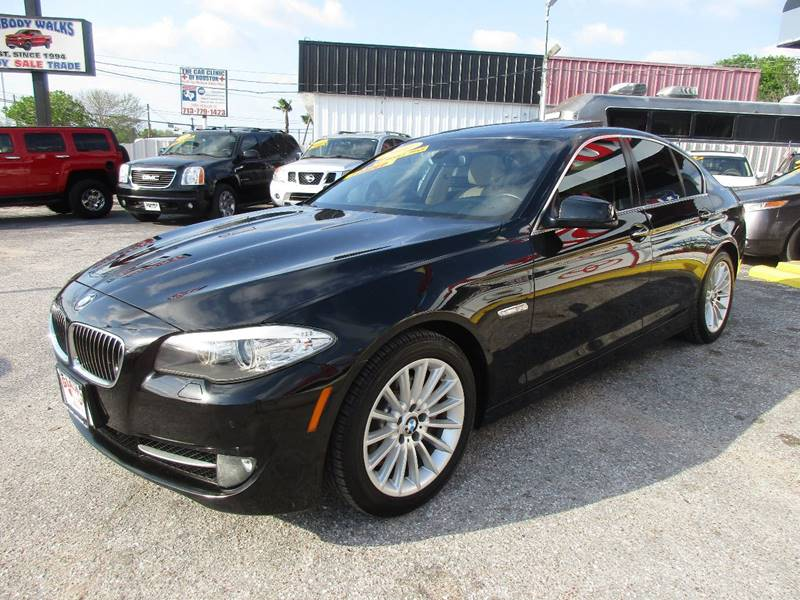 2011 BMW 5 Series for sale at Giant Auto Mart 2 in Houston TX