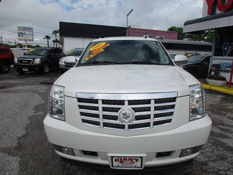 2007 Cadillac Escalade for sale at Giant Auto Mart 2 in Houston TX