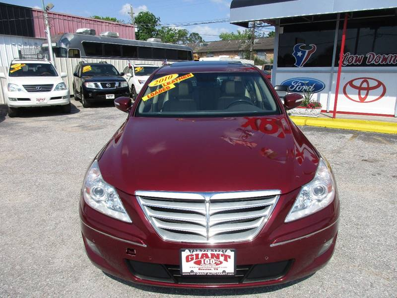 2010 Hyundai Genesis for sale at Giant Auto Mart 2 in Houston TX